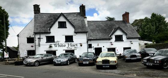 Car Club Social At The White Hart