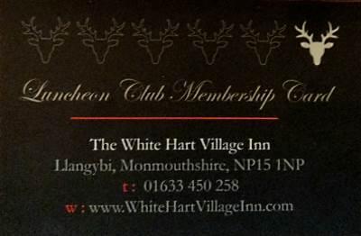 White Hart Residents Card