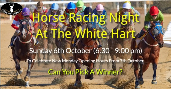 WH Horse Racing Night 6th October 2019